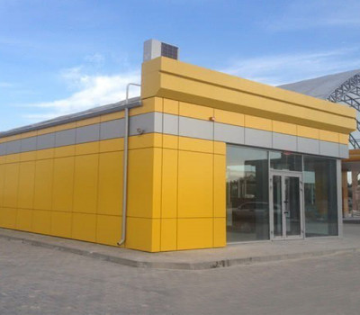 Алюминиевые композитные панели для фасада-4