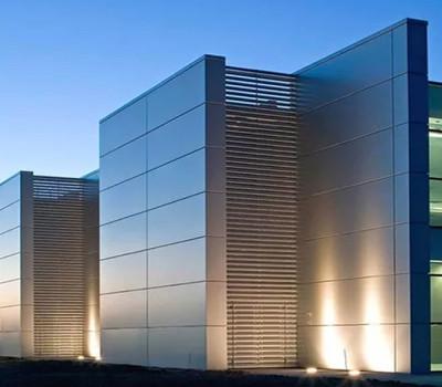 Алюминиевые композитные панели для фасада-2