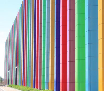 Алюминиевые композитные панели для фасада-7